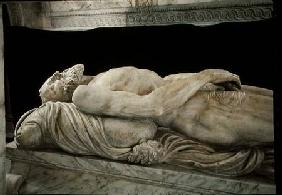 Effigy of Francois I (1494-1547) from the Tomb of Francois I and Claude de France