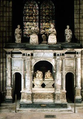 The Tomb of Francois I (1494-1547) and Claude of France (1499-1524)