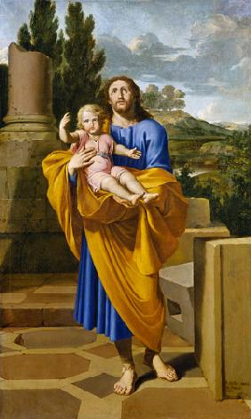 St. Joseph Carrying the Infant Jesus