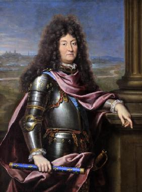 Mignard, Pierre : Louis XIV, King of France ...