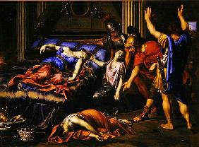 Mignard, Pierre : The Death of Cleopatra