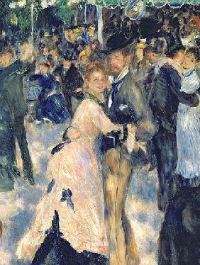 Ball at the Moulin de la Galette, 1876 (detail of 36481)