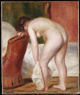Female Nude Drying Herself, c.1909