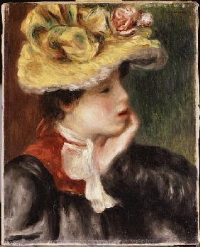Head of a Girl with a Yellow Hat