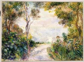 Landscape, End of the Path (View of Naples)