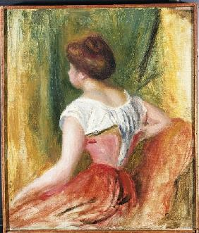 Seated Young Woman
