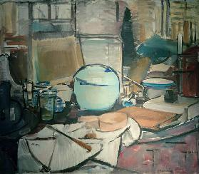 Still Life with Ginger Pot