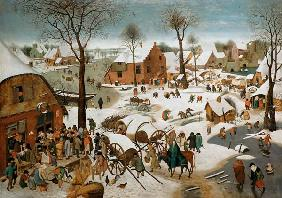 Census in Bethlehem , Brueghel t.Y