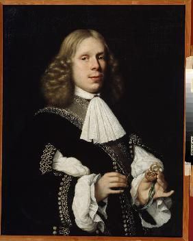 Portrait of the mayor of Haarlem
