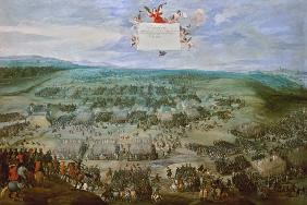 The battle at the white mountain on 11-8-1620