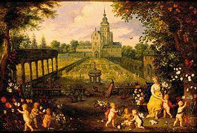 Flora in the garden flowers and trees of Jan Brueghel of this year