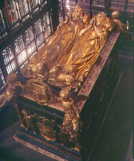 Tomb Of Henry VII (1457-1509) And His Wi