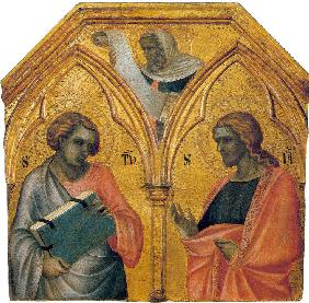 Saint Thomas and Saint James the Less (Predella panel)