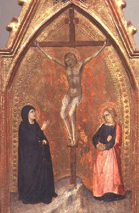 The Crucifixion with the Virgin Mary and John the Theologian