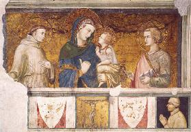 Virgin and Child with St. Francis and St. John the Evangelist