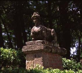 Sphinx, from the 'Parco dei Mostri'