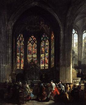 The Chapel of the Virgin at the Eglise Saint Gervais, Paris
