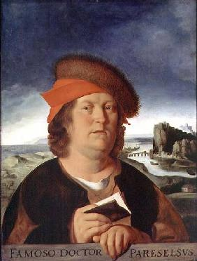 Portrait presumed to be Paracelsus (1493-1541)