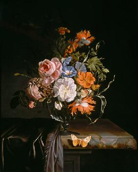 Ruysch, Rachel : A Still Life of Flowers in...
