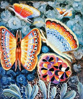 Wings, 1979 (oil on canvas)