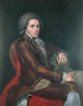Portrait of Manuel Tolsa