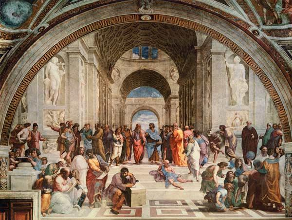 The School of Athens (restoration)