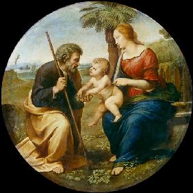 The Holy Family with the palm