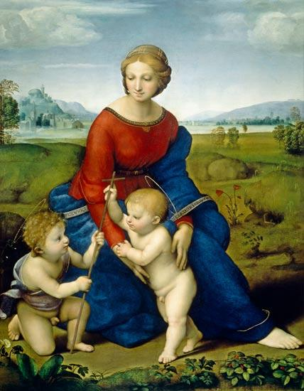 Madonna with the Christ Child and Saint John the Baptist