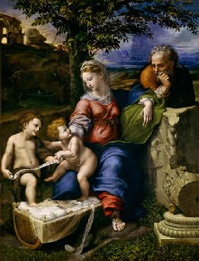 The Holy Family of the Oak Tree