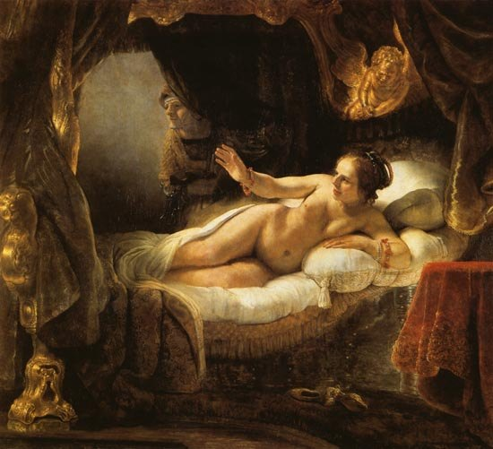 by rembrandt Danae