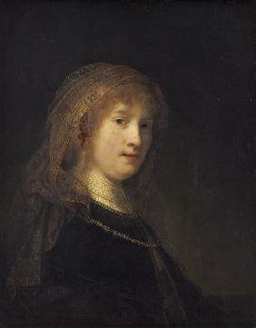 Portrait of Saskia van Uylenburgh