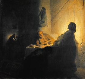 Christ at Emmaus risen from the dead
