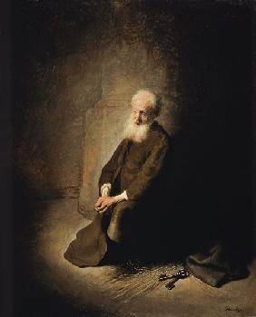 St. Peter in prison.