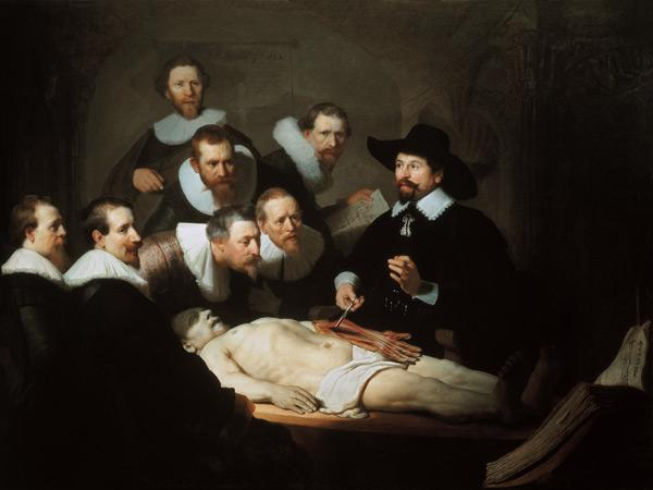 The Anatomy Lecture of Doctor Tulp