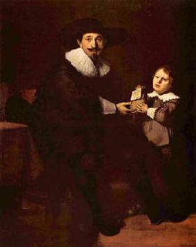 Jean Pellicorne and his son Kaspar