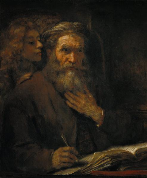 Matthew the Evangelist / Rembrandt