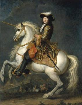 Equestrian Portrait of Louis XIV (1638-1715)