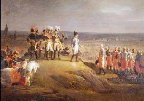 Napoleon I (1769-1821) Receiving General Mack (1752-1828) at the Surrender of Ulm, 20th October 1805