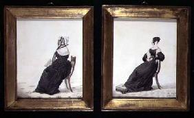 Two Portraits of Widows