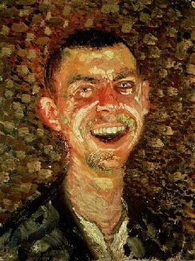 Self Portrait Laughing