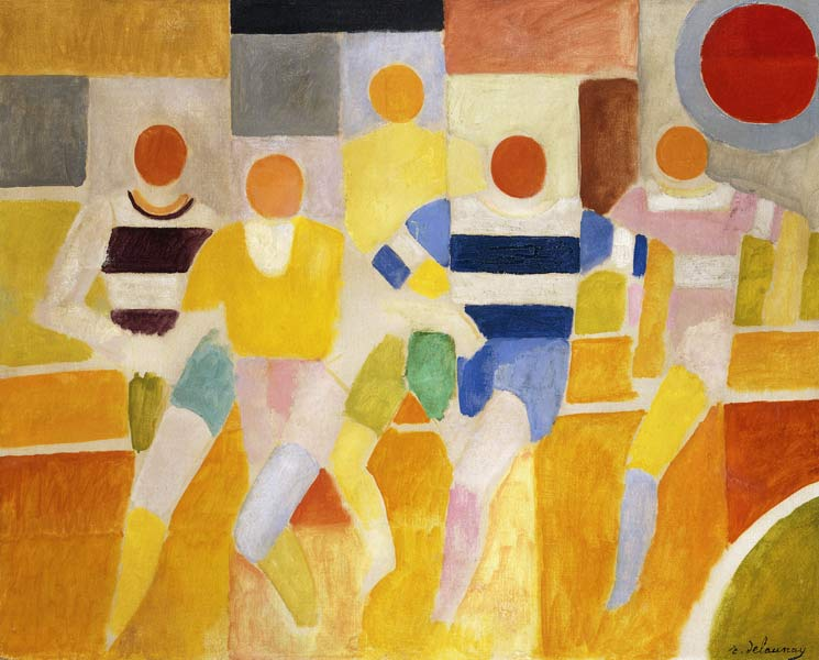 Rober Delaunay - Page 3 Die-laeufer-les-coureurs