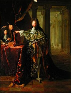 Portrait of moliere 1622 73 pierre mignard
