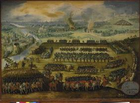 The siege of Paris in the war between Spain U . France