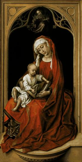 Maria with the child Christ (Madonna Duran)