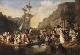 Embarkation of the Ferry Boat