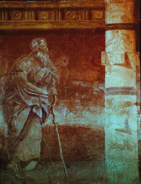 Painting of a Philosopher, from the Boscoreale Villa, Pompeii