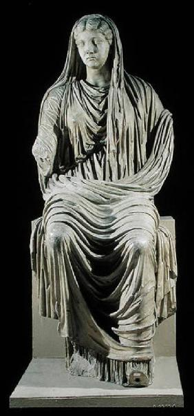 Posthumous statue of Livia (58 BC-AD 29) from Velleia