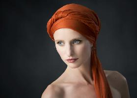 The Girl with the Orange Shawl