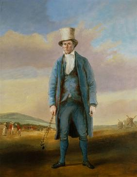 `Old Alick`, Alick Brotherton (1756-1840) the Holemaker of Royal Blackheath Golf Club