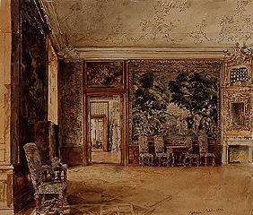 Tapestry hall in the castle Göttweig
